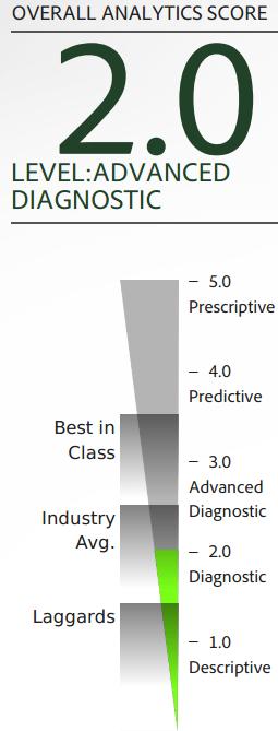 My Analytics Maturity Assessment results