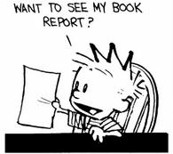 Calvin-book-report